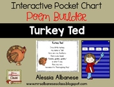 Interactive Pocket Chart {Poem Builder} - Turkey Ted
