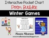 Interactive Pocket Chart {Poem Builder} - Winter Games