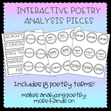 Interactive Poetry Analysis Pieces