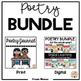 Interactive Poetry BUNDLE (for the Whole Year) - Digital a