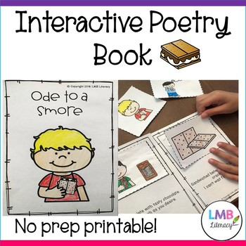 Interactive Poetry Book-Ode to a Smore