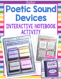 Interactive Poetry Notebooks ~ FREE Bonus Lesson: Poetic Sound Devices