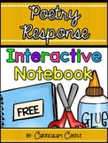 Interactive Notebook: Poetry Response for 1st and 2nd Grade FREEBIE!