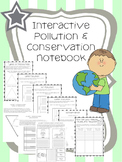 Interactive Pollution and Conservation Notebook