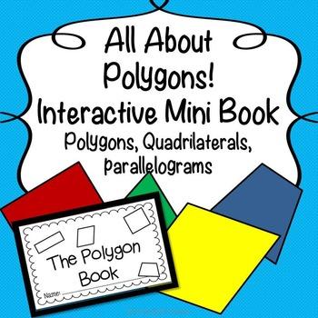 Interactive Polygon Mini Book: Polygons, Parallelograms & Quadrilaterals!