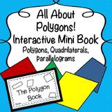 Interactive Polygon Mini Book: Polygons, Parallelograms &