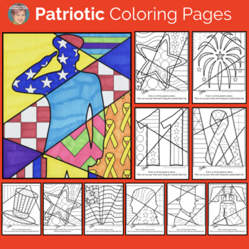 Interactive Coloring: End of the Year Activities, Memorial Day & More!