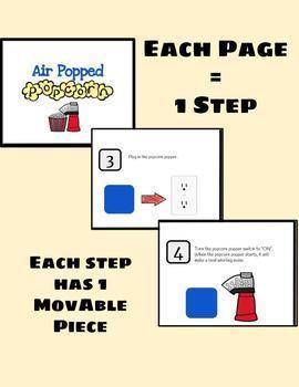 Interactive Popcorn Recipe: DIGITAL VERSION (No Prep!)