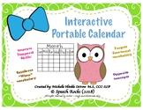 Interactive Portable Calendar