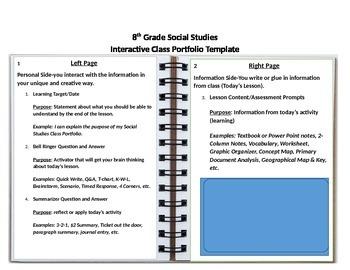 Interactive Portfolio Template