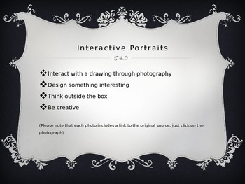 Interactive Portrait Photography-end of year, extra time, etc