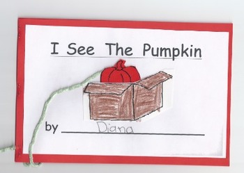 Interactive Pumpkin Book - Common Core, Sight Words, Positional, Halloween, Fall