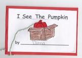 Interactive Pumpkin Book - Common Core, Sight Words, Posit