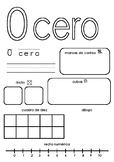 Interactive Posters | Representing numbers in different ways 1-10 in Spanish