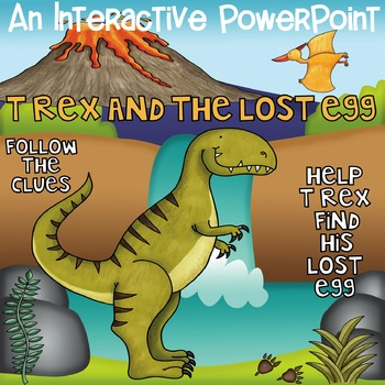 Interactive Power Point T Rex and the Lost Egg