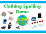 Interactive PowerPoint - Clothing Spelling Game