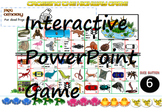 Interactive PowerPoint Frogger Game for Vocabulary of Animals (Intermediate)