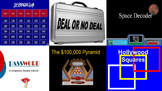 Interactive PowerPoint Game Templates
