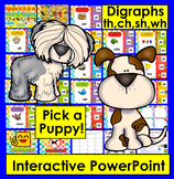 Interactive PowerPoint Game for Consonant Digraphs ch, th, wh, sh