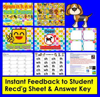 Interactive PowerPoint Game for Consonant Digraphs Distance Learning