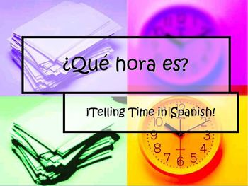 Interactive PowerPoint Introduction to Telling Time