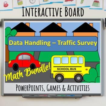 Interactive Whiteboard Math Activities Bundle