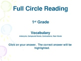 Interactive PowerPoint - Vocabulary - 1st Grade