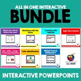 Interactive Powerpoint (BUNDLE) Distance Learning for Auti