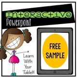 Digital Interactive Powerpoint Freebie