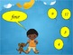 Interactive Powerpoint to Practice Numbers 1-20 (words and digits)