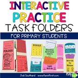 Interactive Practice Task Folder Lapbook for Primary Students