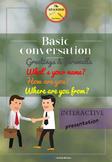 Interactive Presentation: Spanish Basic conversation (Gree