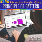 Interactive Principle of Pattern/Repetition -Google Slides
