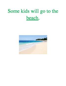 Interactive Printable Summer Book