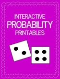 Probability: Interactive Printable Activities