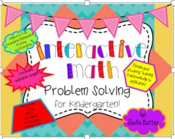 Interactive Math Problem Solving Activities for Kindergart