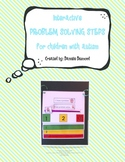 Interactive Problem Solving Steps for Children with Autism