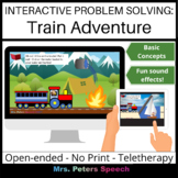 Interactive Problem Solving: Train Adventure Basic Concepts Game