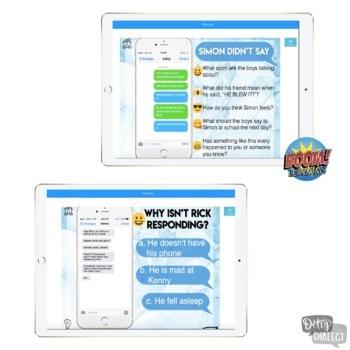 Interactive Problem Solving through Text Message [NO print, NO prep]