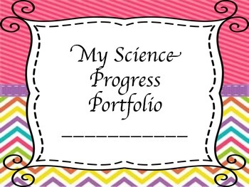Interactive Student Progress Portfolio - Grade 5 Science
