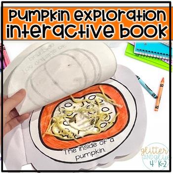 Interactive Pumpkin Book-All About Pumpkins!