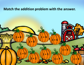 Interactive Pumpkin Patch Addition Game (Google Classroom)