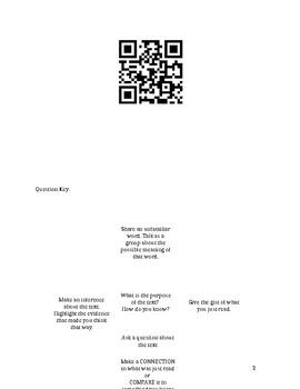 Interactive QR Reading Dice