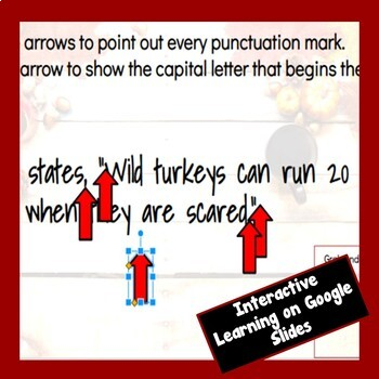 Interactive Quotation Marks + Sentence Structure Bundle: Thanksgiving Edition