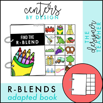 Interactive R-Blends Adapted Book