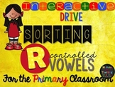 Interactive R Controlled Vowels Sorting Pictures and Words