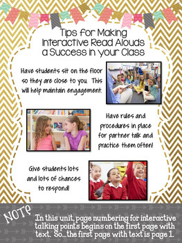 Interactive Read Aloud Lessons for the Entire Year