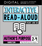Interactive Read Aloud - Author's Purpose (3rd Grade)