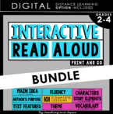 Interactive Read Aloud BUNDLE- (3rd Grade)