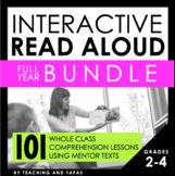 Interactive Read Aloud - BUNDLE (3rd Grade)